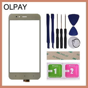 Image 4 - 5.5 携帯電話のタッチスクリーンデジタイザxiaomi mi A1 MiA1 MDG2タッチガラスセンサーツールフリー接着剤とワイプ