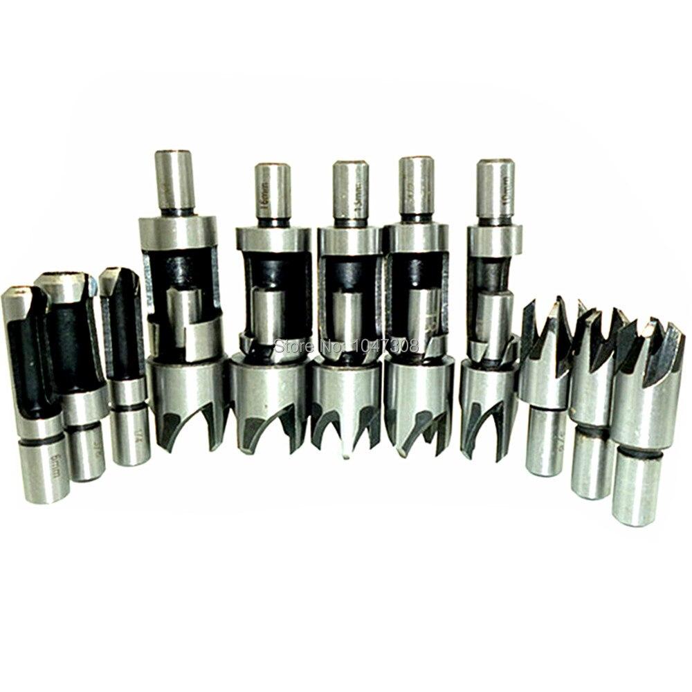 Jobber-Length  Drill Bit 12 Pack Type R10 Precision Twist Drill 19//64 in
