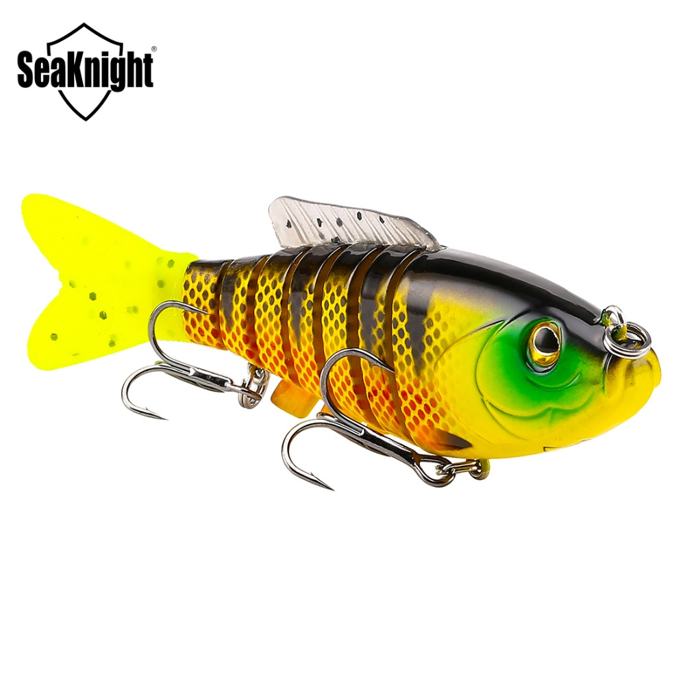 Fishing Lure Artificial Bait Plastic Hard Fishing Lure 80mm 19g sk001 artificial Sinking Wobblers With  Hooks 5 Color