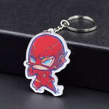 The Flash Keychain 4 Styles Fashion Jewelry Key Chains Hot Sale The Avengers Custom made Anime