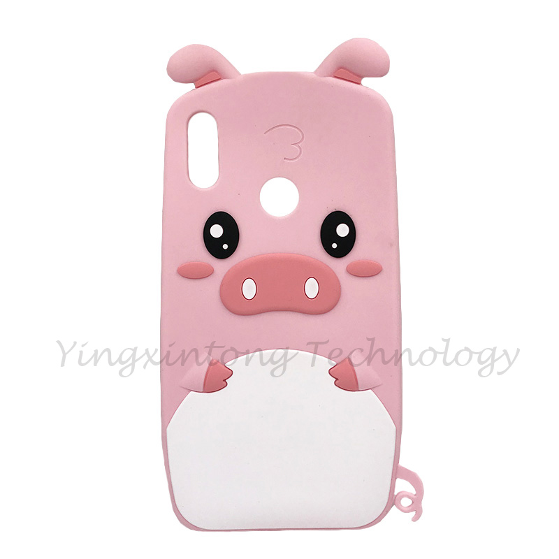 3D Cartoon Stitch Silicone Case For Xiaomi Redmi Note 5 Note5 Pro Global 5 99 inch Soft Cat Unicorn Pink Pig Horse Stitch Cover in Fitted Cases from Cellphones Telecommunications