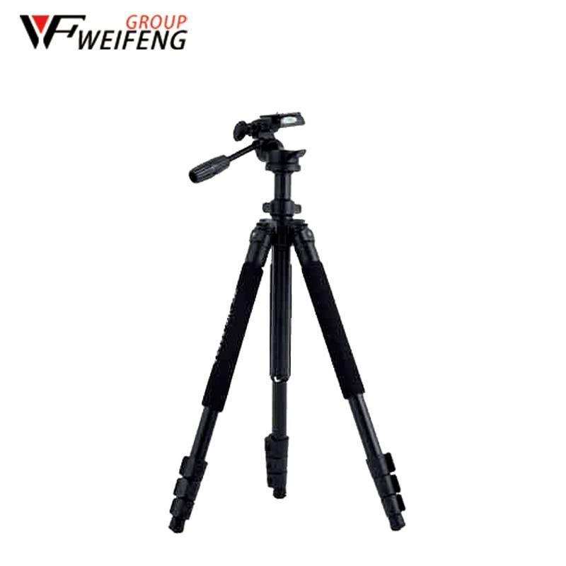 Weifeng WF6663A Tripods Three Magnesium Alloy Tripod Travel Professional Portable Monopod Tripod For Camera