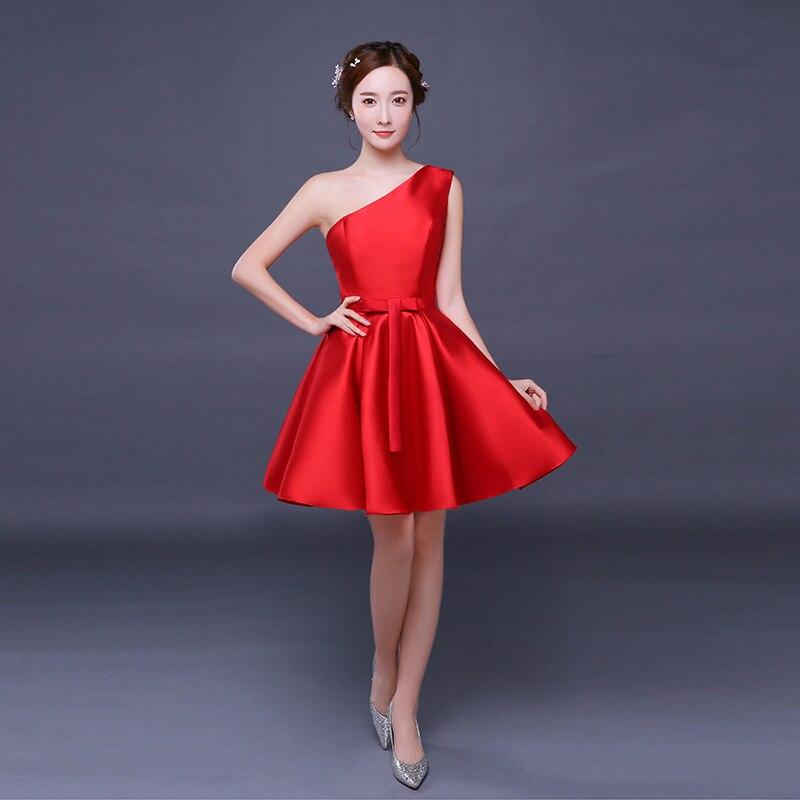Bonito Seattle Partido Vestido Rojo Motivo - Vestido de Novia Para ...