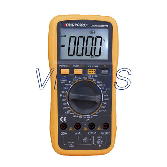 Фотография Full function protection Digital Multimeter VC9806+ 4 1/2 Digital Multimeter DMM