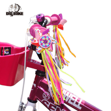 Drbike kids bike Handlebar Windmill scooter Decora el manillar de la bicicleta Colorful Ribbon Streamers Tassels Colorful Streamer