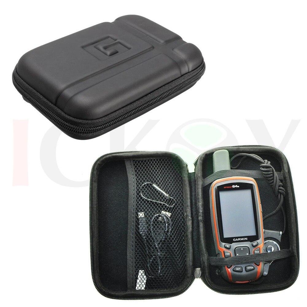 Portable Protect Case Black Detachable Ring Neck Strap for GPS Garmin Astro 320 220 GPSMap 62