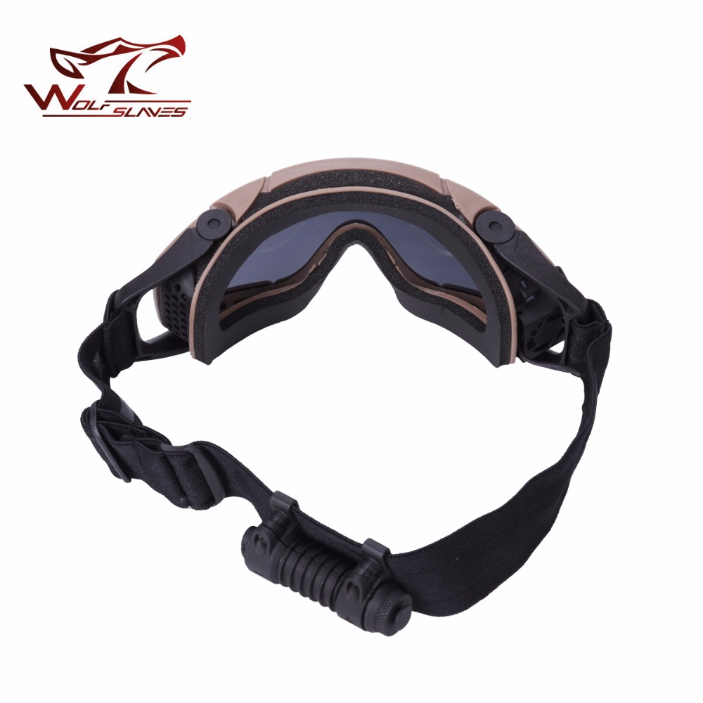 2017 Tactical Combat OK Goggles with 2 lens Outdoor Hunting Sunglasses Cycling Protective Eyewear