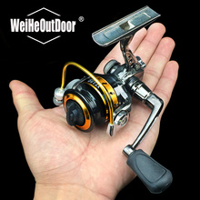 Pre-loading xf150 Pocket Spinning Fishing Reel Alloy Material GEAR RATIO 5.0:1 Left Right Hand Carp Fishing Tackle Pesca