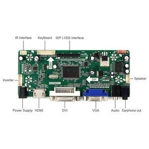 "Image 3 - HDMI VGA DVI Audio LCD Controller Board For 17"" B170PW03 B170PW06 LP171WP4 LTN170X2 1440x900 LCD Screen"