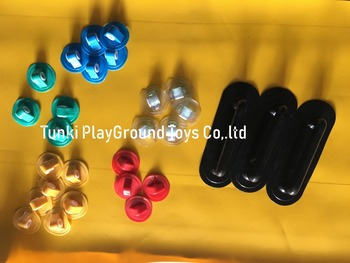 zorb ball clasps dots tpu pvc roller bubbles
