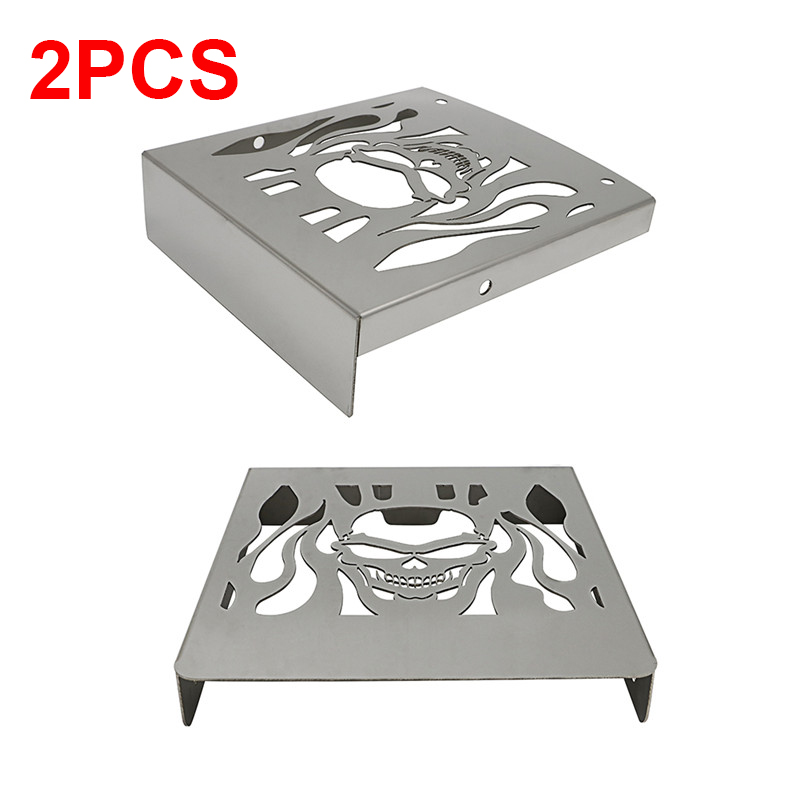 2X Cooler Radiator Cooling Grille Grill Guard Fuel Tank Cover Protection For Suzuki VL1500 1500 LC