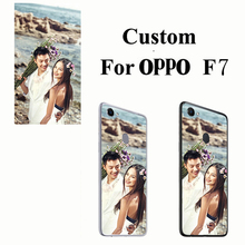 Silicone TPU Cases Custom Phone custom made Protective Back Case Photo Print  for OPPO F7