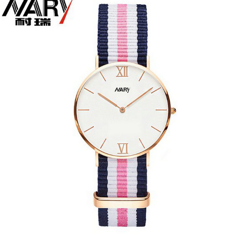 The new fashion business casual watch watchband fringe white-collar workers students watch lovers