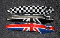 2pcs Lot Car Styling MINI COOPER Countryman Union Jack Door Handle Sticker Protect Door Knob Cover