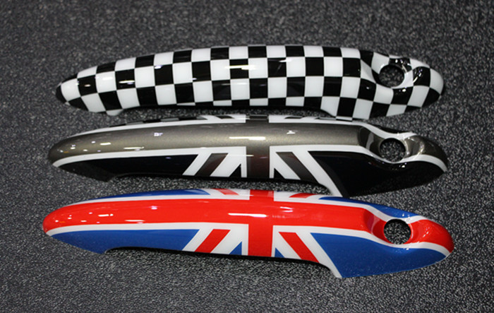 2pcs Car Styling Mini Cooper Countryman Union Jack Door