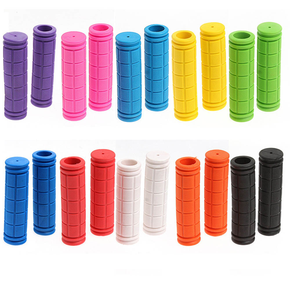 Lock On Bicycle Grips Rubber MTB Road Bike Grips Handle End Bar Cycling BMX Fixed Gear Handlebar Grips Fixie Bike Parts грипсы ethic rubber grips blue