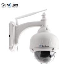 SunEyes SP-V706W Беспроводной Купольная Ip-камера Открытый 960 P/1080 P HD с 2.8-12 мм Оптический зум Автофокус Low Lux ИК Ночного