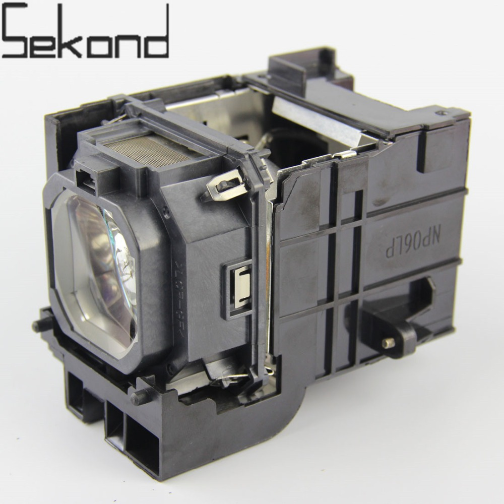 SEKOND NP06LP Projector Lamp With Housing For Nec NP1150 NP2150 NP3150 NP3151 NP2250 NP1200 NP3200