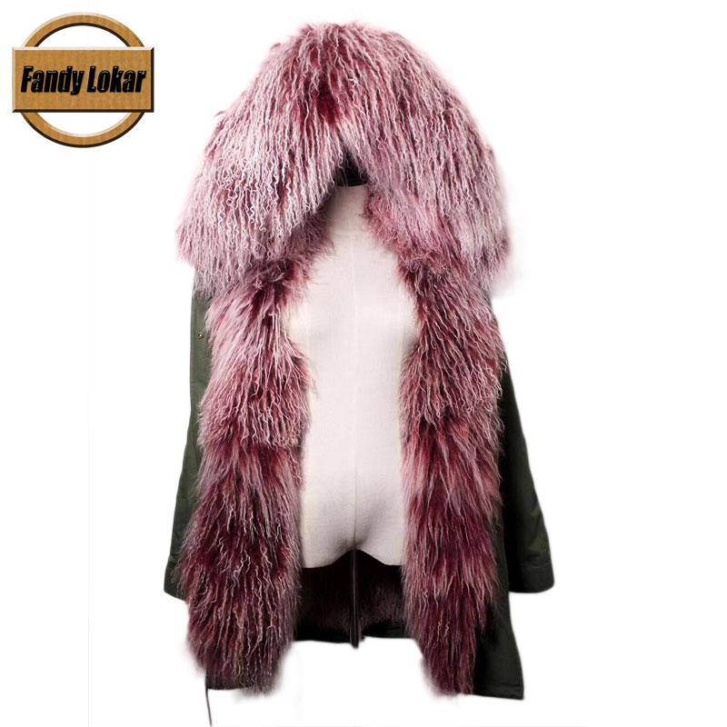Long Military Hood Natural Sheep Fur Coats Real Mongolia Sheep Fur Lining Parkas Women Winter Jackets Shearling Fur Parka Female часы timex timex ti001dmgon60