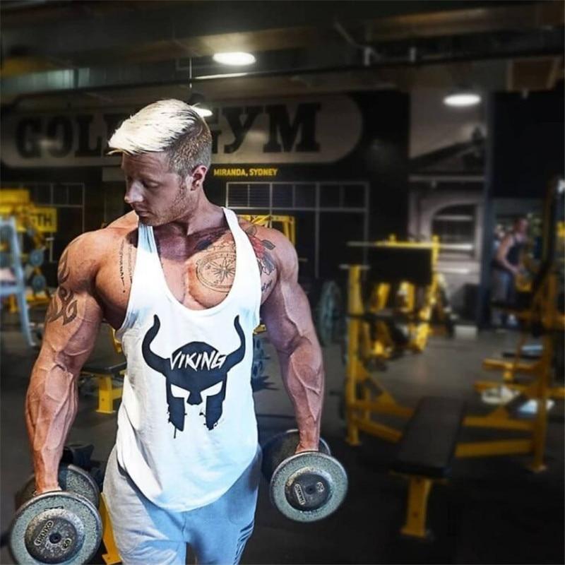 100% Wahr 2019 Marke Mens Sleeveless Tank Tops Sommer Baumwolle Druck Männlichen Tank Tops Fitness-studios Kleidung Bodybuilding Unterhemd Fitness Tank Tops