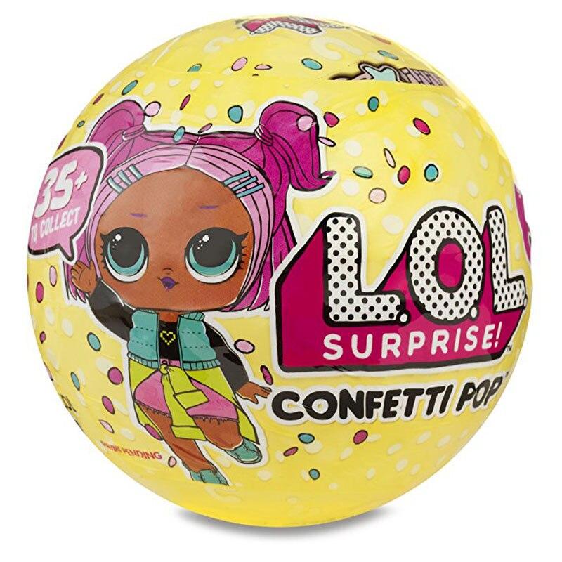 L.O.L. Сюрприз! Допускается серии 3 LOL кукла случайный Наряжаться маленьких разорвать Цвет Изменение Яйцо куклы Животные Серия 3 в шары игрушка