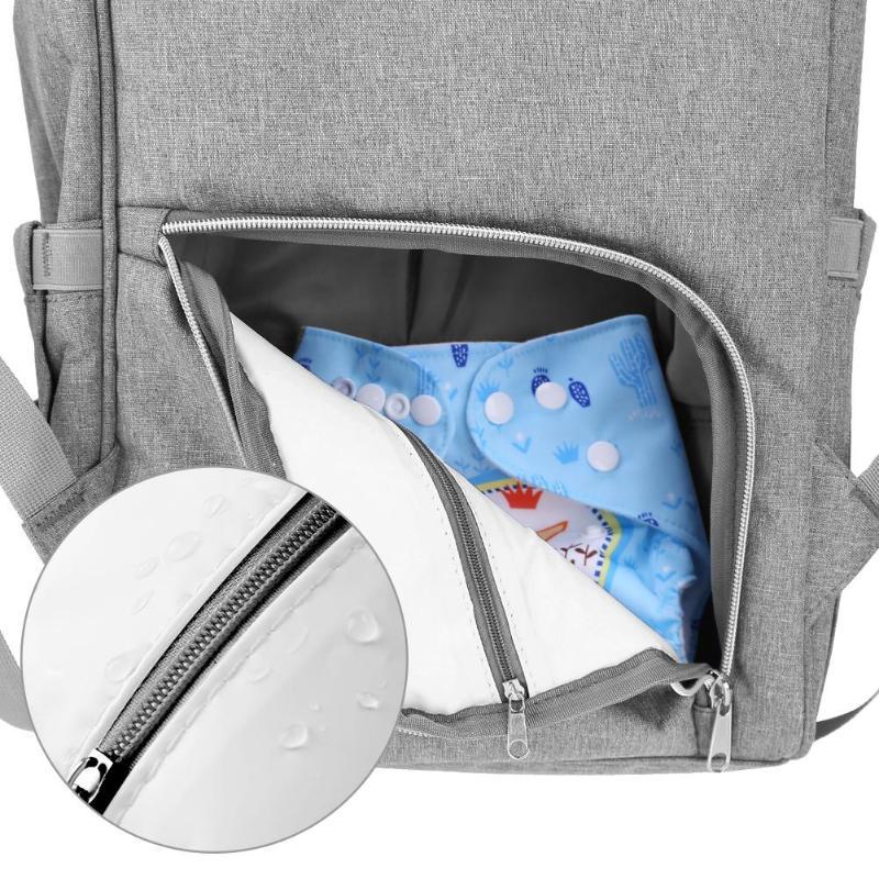 HTB1EorkHKuSBuNjy1Xcq6AYjFXaS LEQUEEN Fashion USB Mummy Maternity Diaper Bag Large Nursing Travel Backpack Designer Stroller Baby Bag Baby Care Nappy Backpack