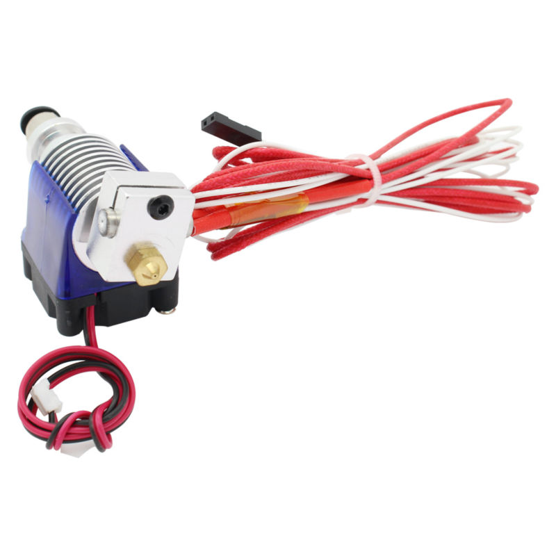 V6 J-head hotend Cooling Fan for 1.75mm/3mm Filament Wade Extruder 0.3/0.4/0.5mm Nozzle long distance For Makerbot Reprap