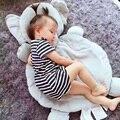 60*91 centímetros Elefante Gigante e raposa mat Forma Animal de pelúcia almofada Travesseiro para dormir presente Do Bebê