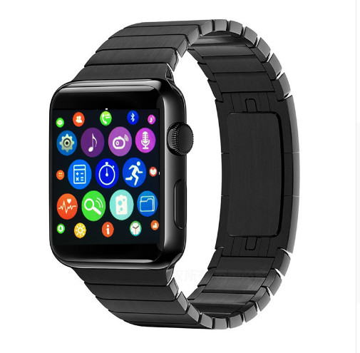 42mm Bluetooth Connected Smart Watch IWO 2 MTK2502C 1 1 Heart Rate Monitor Pedometer Smartwatch for