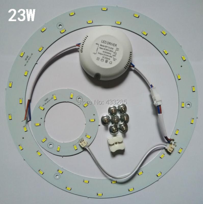 Aliexpress Com Buy 23w Led Ac85v 265v Panel Circle Light