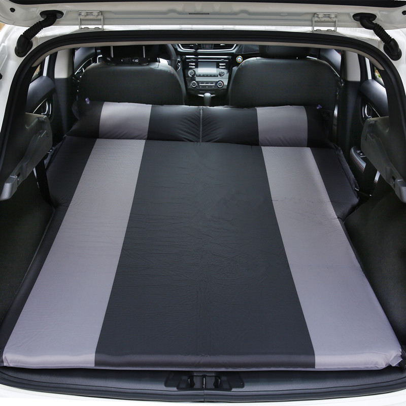 Car automatic air mattress Car shock bed suv trunk travel bed car bed car mattress split type car inflatable mattress car shock bed on board flocking inflatable bed separate type air cushion bed car split car bed