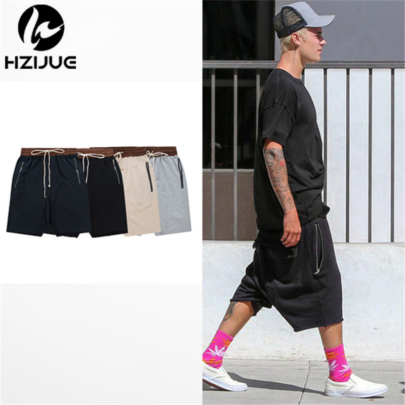 hzijue streetwear hip hop dance clothes stage for men black grey khaki short mens stretch cotton. Black Bedroom Furniture Sets. Home Design Ideas
