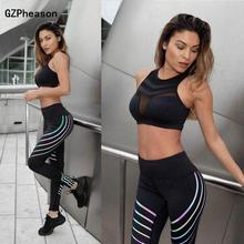 Women High Waist Workout Leggings Gothic Slim Breathable Spandex Sexy Fitness Feminina Plus Size