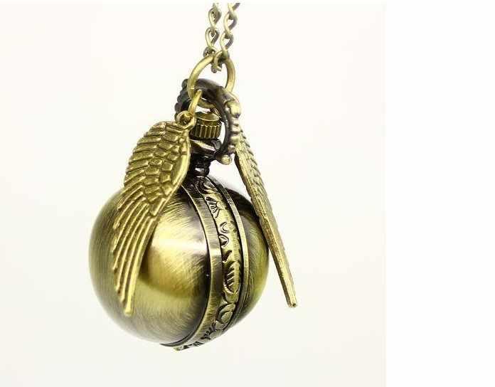 ZRM bijoux de mode Vintage charme potier doré balance montre de poche pour les femmes