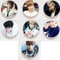 2016 nueva Venta Al Por Mayor KPOP Fan BTS Bangtan Chicos Insignia Muchacho A Prueba de Balas exploradores de Los Hombres y Mujeres Broches bts beanie k pop k-pop