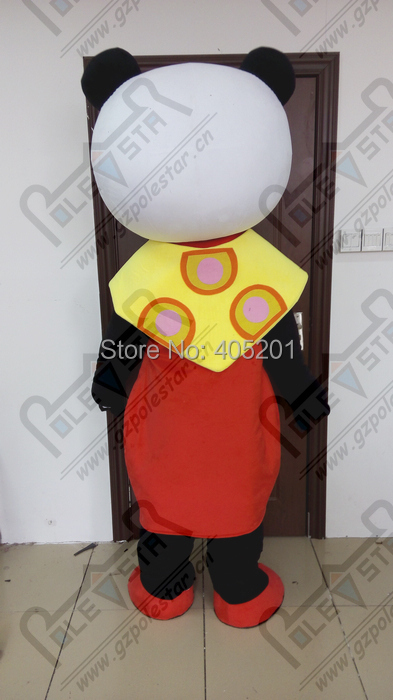 polite female panda mascot costume red flower panda costumes on Aliexpress.com | Alibaba Group & polite female panda mascot costume red flower panda costumes on ...
