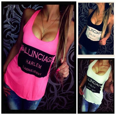 2015-Hot-Sales-Women-Tank-Top-Solid-color-Sleeveless-Letter-Print-Sexy-backless-tops-Casual-t (1)