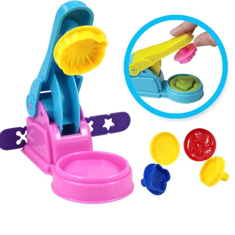 7pcs/set Polymer Clay Tool Kit Children Kids DIY Playdough Modeling Mould Clay Tool Kit Educational Toys Gift Random Color