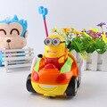 Миньоны Doraemon Hello kitty Розовый поросенок Дистанционного Управления Electric toys автомобиль дети RC Автомобиль Мультфильм музыкальный свет детей Мальчики Девочки игрушка