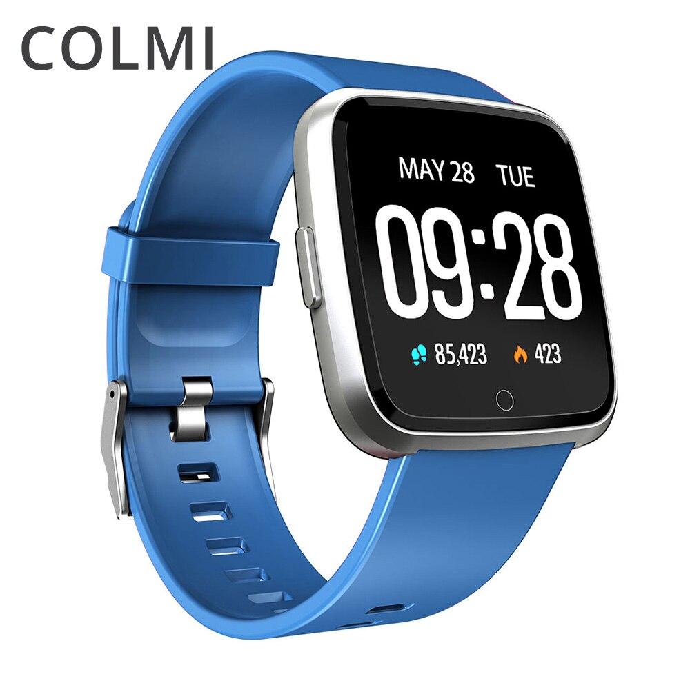 Colme inteligente reloj de los hombres IP67 impermeable actividad rastreador de ejercicios Monitor del ritmo cardíaco de la mujer Smartwatch para Android IOS
