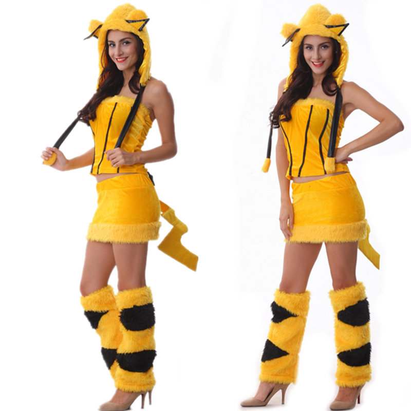 Popular Sexy Pikachu Costume-Buy Cheap Sexy Pikachu -2262