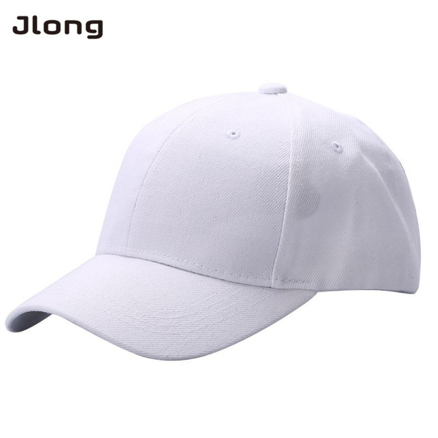 1b89f57f5c83f Fashion Men Women Plain Baseball Cap Unisex Curved Visor Hat Hip-Hop  Adjustable Peaked Hat Visor Caps Solid Color