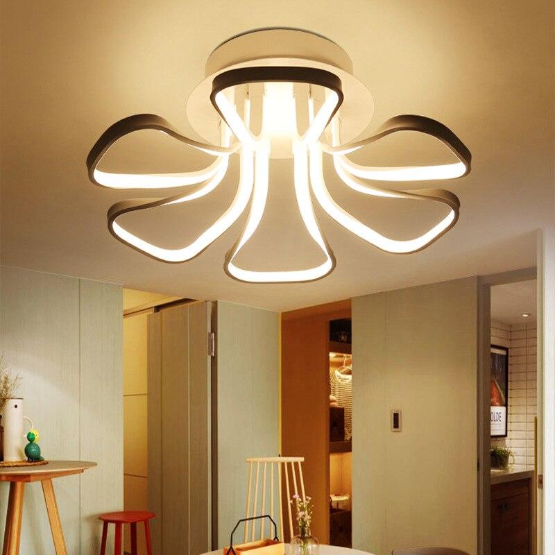Modernas lmparas de techo 330 w breve saln dormitorio lmparas