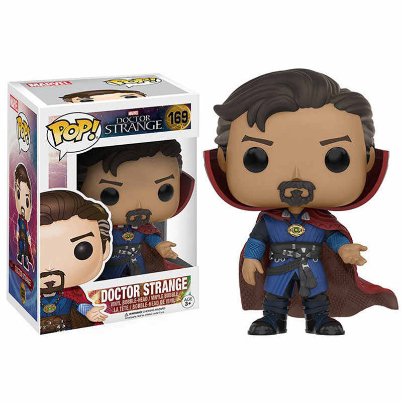 Funko POP The Marvel Avengers3: Infinity War Doctor Strange brinquedos Action Figure toys for children birthday Gift