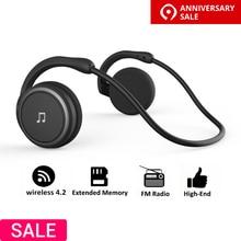 Arikasen Bluetooth наушники Спорт MP3 плеер гарнитура FM радио расширенной памяти беспроводные наушники-плеер bluetooth наушники с микрофоном