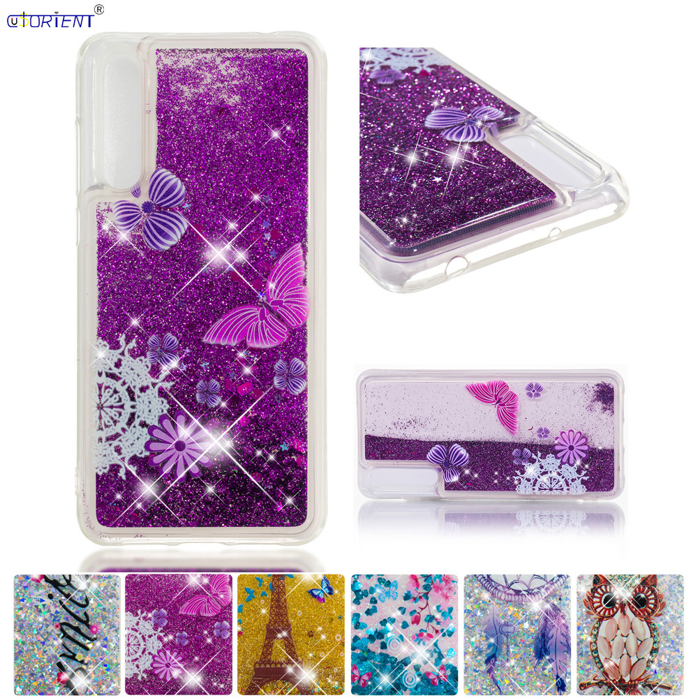 Cellphones & Telecommunications Phone Bags & Cases Latest Collection Of Bling Glitter Case For Huawei P20 Pro Liquid Quicksand Back Cases Huawei P20 Plus Clt-l29 Clt-l09 L29c Soft Tpu Full Cover Funda Modern Techniques
