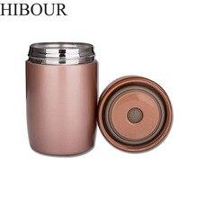 HIBOUR Kind Kind Thermos 480 mL Flaschen Edelstahl Thermobecher Flasche Thermocup Geschenke