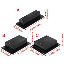 18650 Li ion Battery Case Holder Cell Batteries Storage Box Container Plastic DIY Accessories