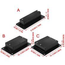 18650 li ion Batterie Fall Halter Zelle Batterien Lagerung Box Container Kunststoff DIY Zubehör
