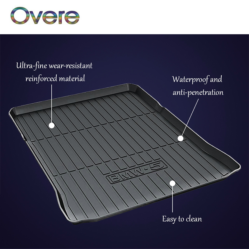 Overe 1Set Car Cargo trunk mat For BMW X1 X3 X4 X5 X6 E84 2 3 5 7 Series F45 F30 F31 F34 F10 F11 F07 G30 G31 G38 F01 F02 F03 F04 цена